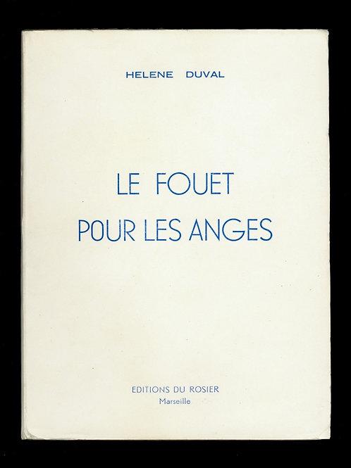 1962 Goetz Delalu Le Fouet pour les Anges Roman érotique curiosa érotique bdsm