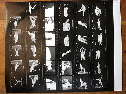 8 planches contact érotiques 28,5 x 24 cm d'environ 25 à 35 photos chaque