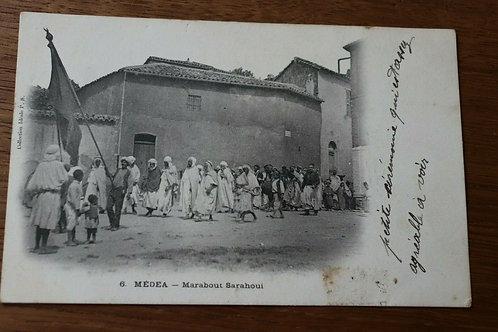 Pointez sur l'image pour zoomer CPA-Medea-Marabout-Sarahoui-Algerie-Afrique-cou