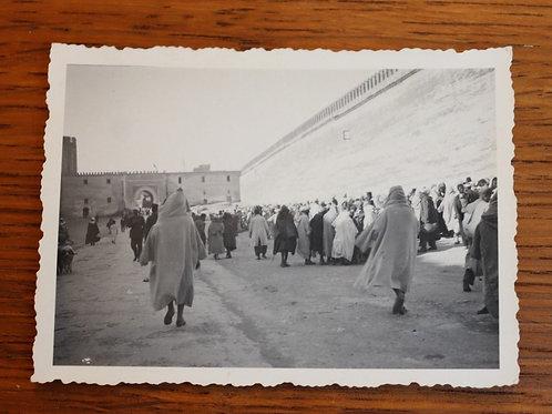 Photo ancienne vers 1930 Maroc Afrique Fès