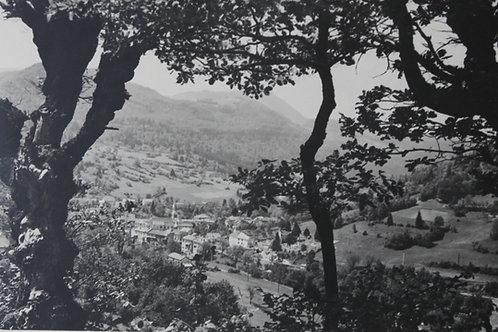 St Germain de Joux Ain. Photographie originale années 1950