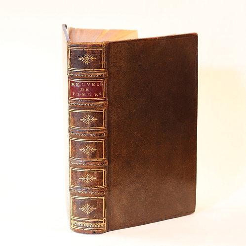 Jansénisme. Pierre Codde. Nicolas Petitpied. 1707-1712. Bel exemplaire