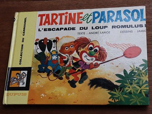 1969 Tartine et Parasol L'escapade du Loup Lange Carrousel Livre enfant