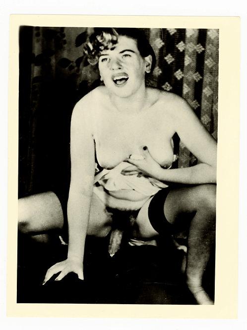 Photographie argentique originale X amateur (vers 1950-1960). 12 x 9 cm