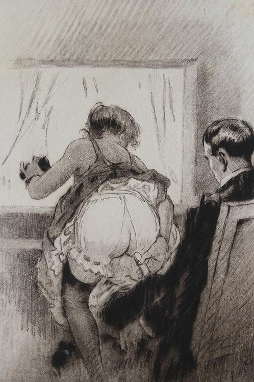 Johannes Gros. Moi, Poupée. 1930. Superbe et rarissime curiosa clandestin !