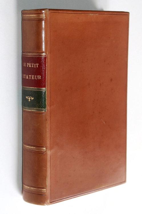 Le Petit Citateur ou Notes Érotiques et Pornographiques. Dictionnaire vert ...