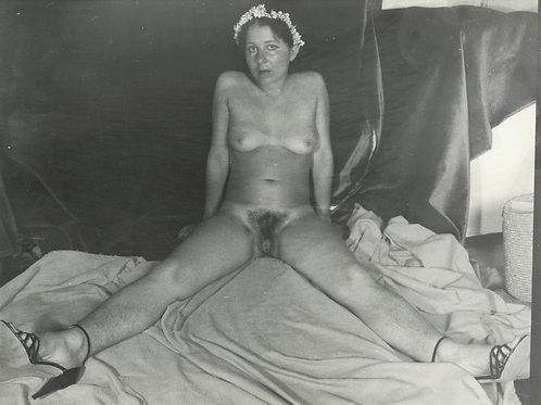Photographie Amateur Vintage Nu féminin vers 1965. Ref. 947