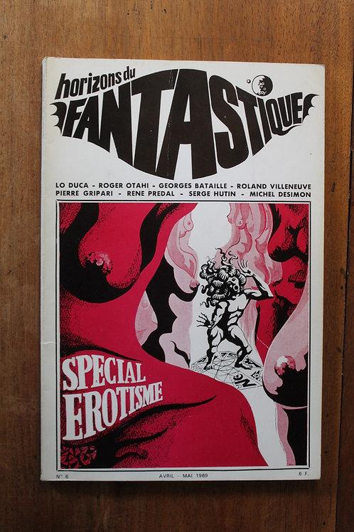 1969 BDSM Horizons du Fantastique. Revue