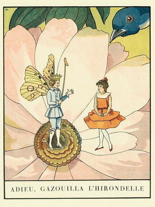 1932 ALBERT URIET illustration ENFANTINA Contes d'ANDERSEN