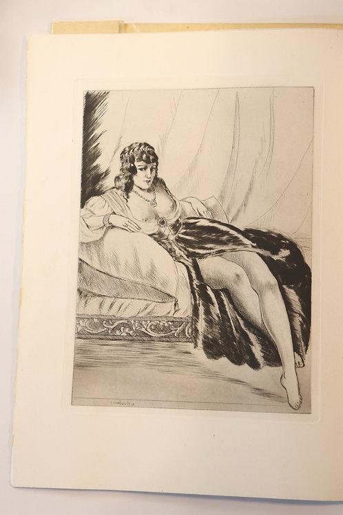 Joachim du Bellay. La vieille courtisane (1949). 1/350 ex. Superbe illustré