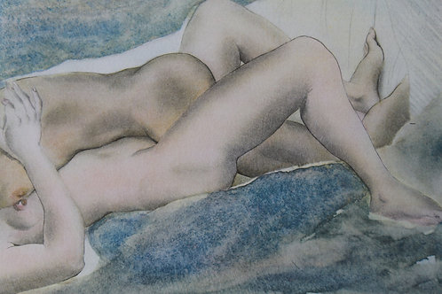 Mariette Lydis. Estampe érotique (1935). Nu (1)