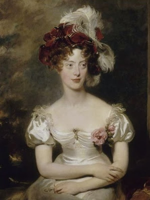 Marie-Caroline, duchesse de Berry (1798-1870), femme bibliophile.