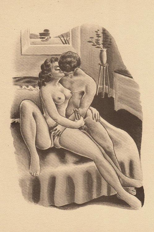 Les Débordements de Michou (Toulouse, Francis Flores, 1956). Rare clandestin