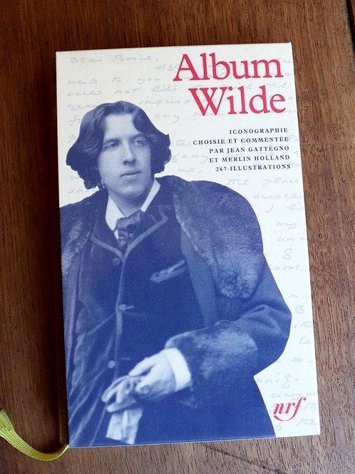 1996 Bibliothèque Pléiade Album Oscar Wilde iconographie Gallimard