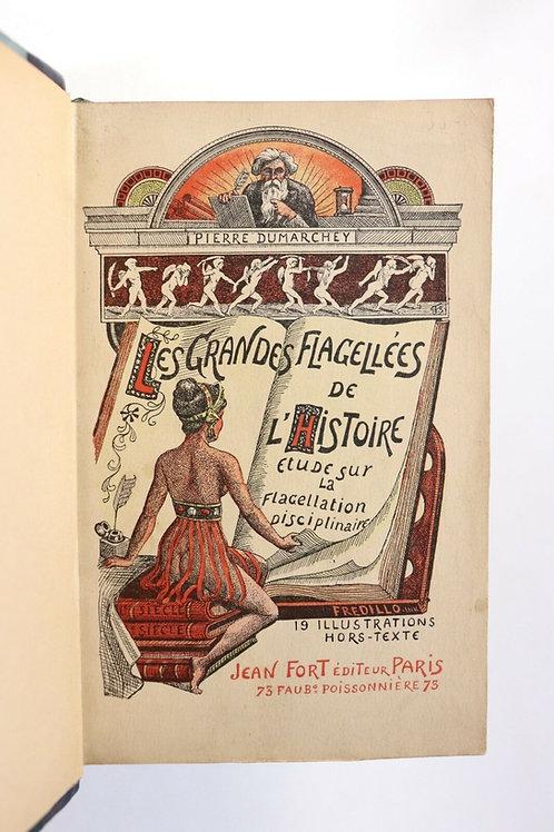 1909 Mac-Orlan Dumarchey Les Grandes Flagellées de l'histoire Jean Fort