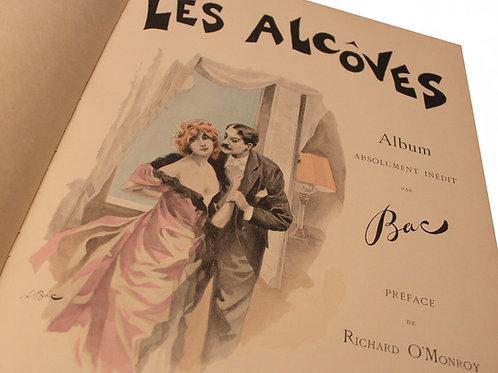 Les Alcôves. Album par Ferdinand Bac (1895). 1 des 30 ex. sur Japon