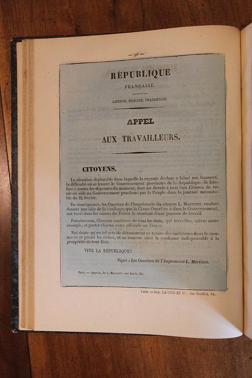 Alfred Delvau (collectif). Les Murailles Révolutionnaires (février 1848).