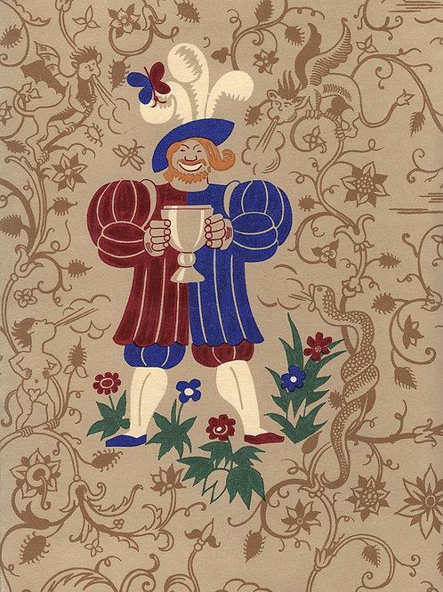Exemplaire unique contenant les dessins originaux de Lucien Boucher