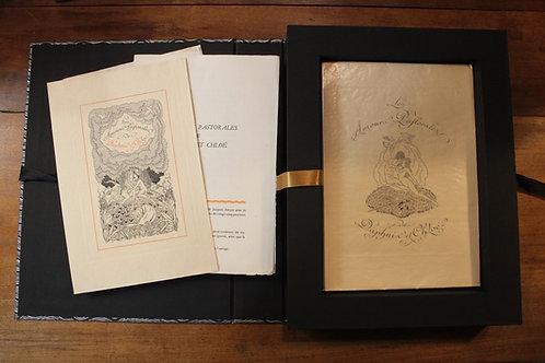 1931 Les Amours pastorales de Daphnis et Chloé par Longus. Gravures au burin de