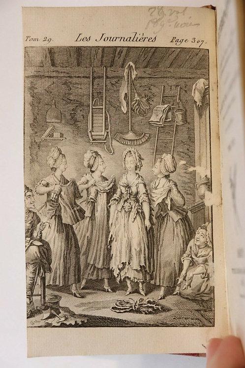 1787 (1825) Rétif de la Bretonne Restif Bretone Les Contemporaines XXIVe vol.
