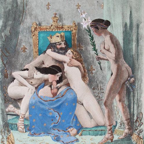 Pierre Louÿs. Paul-Emile Bécat. Histoire du roi Gonzalve et des douze princesses