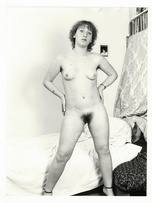 Photographie Amateur Vintage Nu féminin vers 1965. Ref. 954