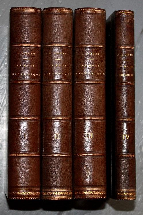 La Muze Historique de Loret ou Recueil des Nouvelles du Temps en vers 1650-1665