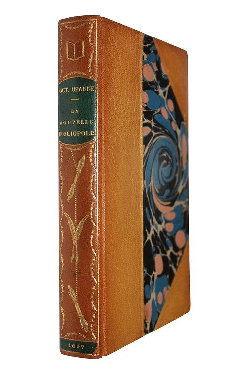 La Nouvelle Bibliopolis d'Octave Uzanne (1897). Lithographies de Dillon