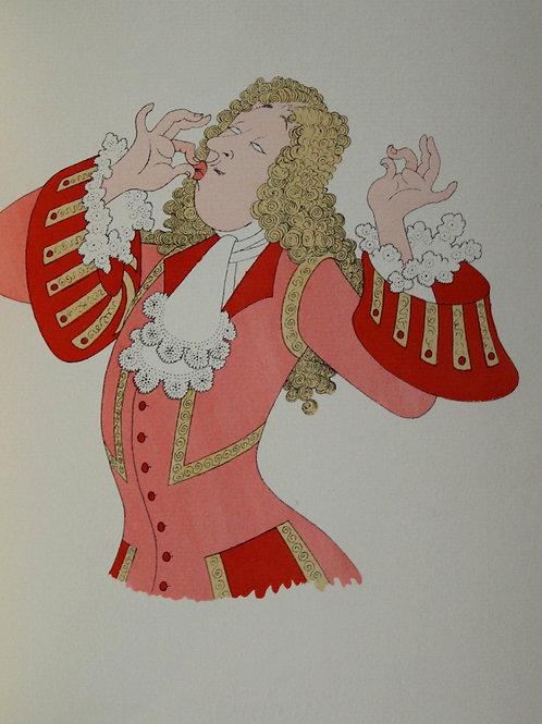 1953 Tartuffe Molière illustré Dubout 1/500 vergé d'Arches avec suite