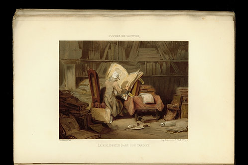 Le Conseiller du Bibliophile (1876-1877). Exemplaire sur Hollande. Dédicacé