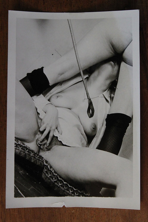 Photo originale Fetish BDSM Bondage (vers 1965)