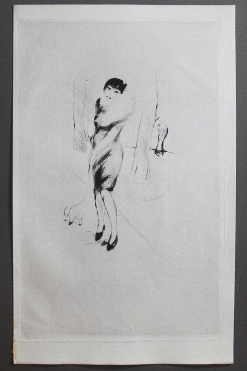 Frans de Geetere (vers 1930). Estampe originale pour la Légende des Sexes