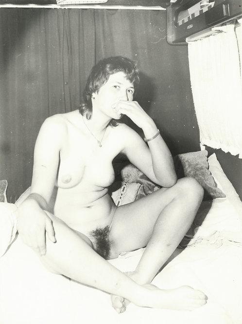 Photographie Amateur Vintage Nu féminin vers 1965. Ref. 943