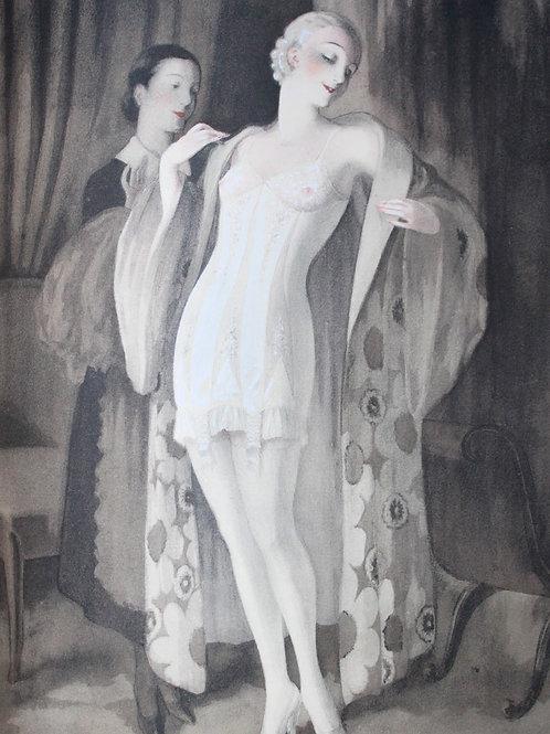Le Corset par F. Libron et H. Clouzot (1933). 1 des 80 exemplaires avec suites.