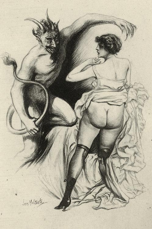 Collection des Orties Blances. Dolly Morton. Louis Malteste (1925). 8 hélio.