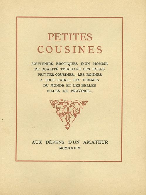 Petites Cousines par Pierre Mac-Orlan avec des illustrations de Courbouleix