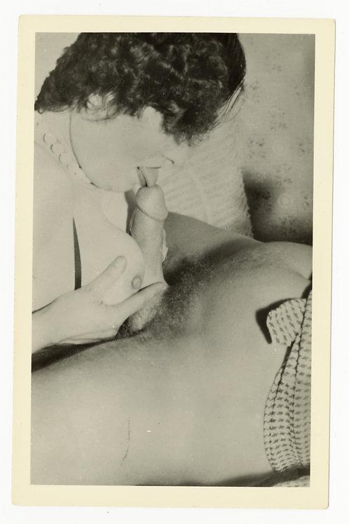Photographie argentique originale X amateur (vers 1950-1960). 14 x 9 cm. Ref Y22