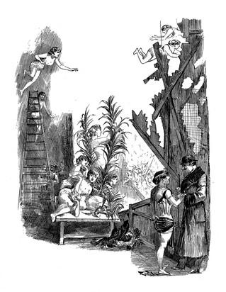 L'envers d'un féerie, par Octave Uzanne et Albert Robida (mars 1882). Les Mille et une nuits