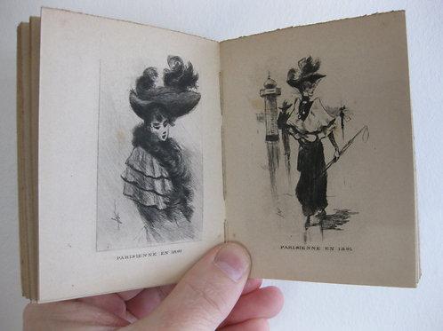 Almanach pour 1891 par Henri Boutet eaux-fortes
