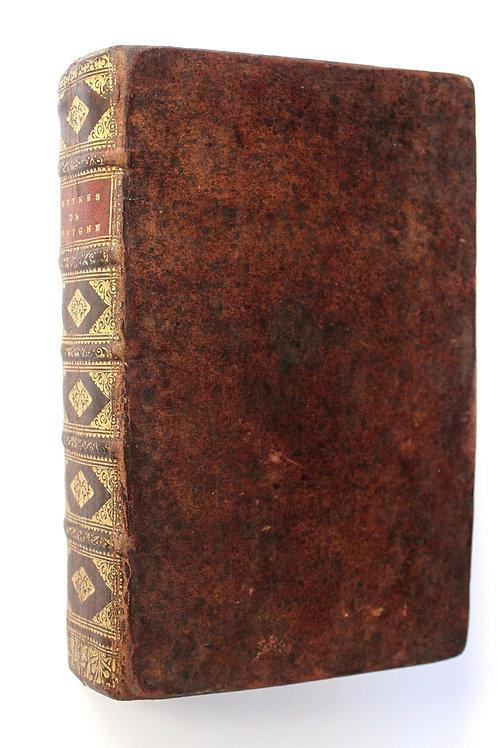 Lettres de la Marquise de Sévigné (1726). Rare édition de La Haye