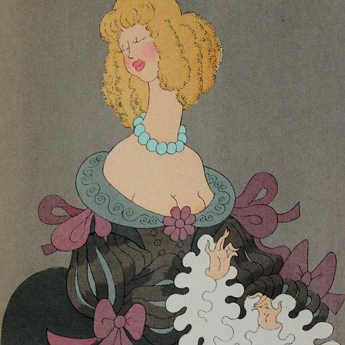 1954 Le Misanthrope  de Molière illustré par Dubout 1/500 vergé d'Arches