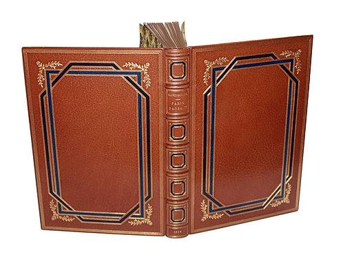 Bibliophilie fin de siècle : Paris Dansant (1898) par G. Montorgueil / Willette.