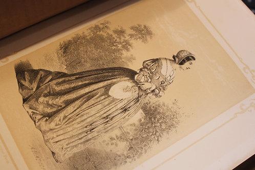 Adélaïde Celliez. Les Reines d'Espagne et de Portugal (Lehuby, 1855). Bel ex.