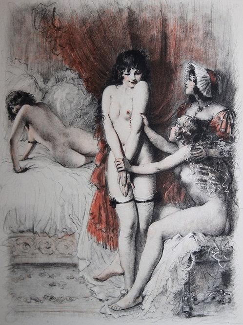 Le Malheureux Petit Voyage de Soulages illustré par Bécat (1950)
