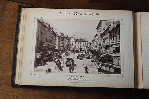 Grenoble et ses environs (Grenoble, Eugène Robert, vers 1890). 24 photographies.