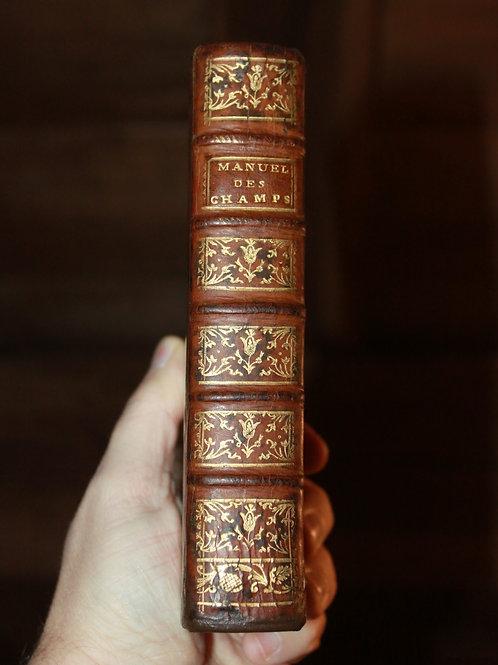 Le Manuel des Champs de Chanvallon (1769). Instructions pour la vie champêtre ..