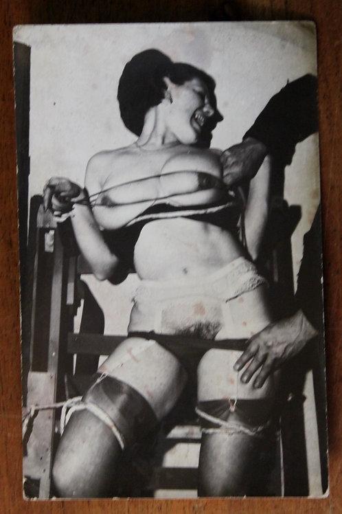 Photographie tirage argentique BDSM Bondage Domination Sado-Masochisme