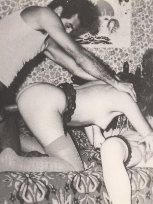 Photographie originale amateur érotique (vers 1970). Ref. 84