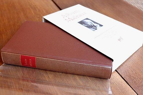 1986 Bibliothèque Pléiade Album Malraux  iconographie Gallimard