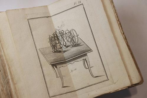 Sigaud de La Fond. Traité de l'électricité (1771). 12 planches. EO